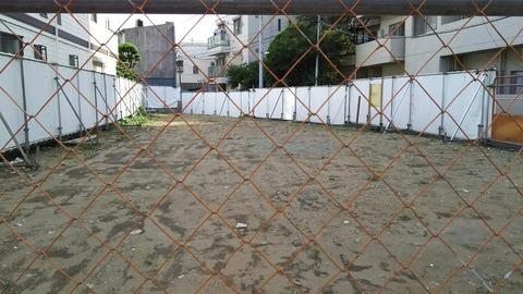 本八幡のマンション建設予定地