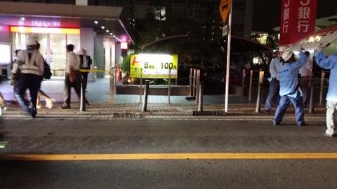 本八幡三菱UFJ銀行の前で事故
