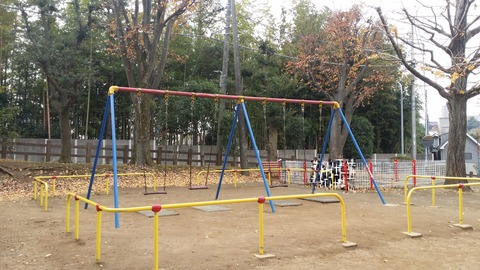 須和田公園のブランコ