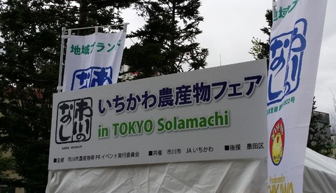 いちかわ農産物フェア/2016