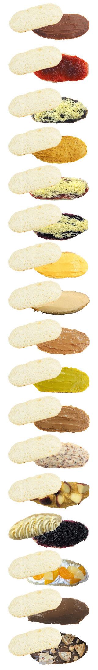 お菓子パン一覧