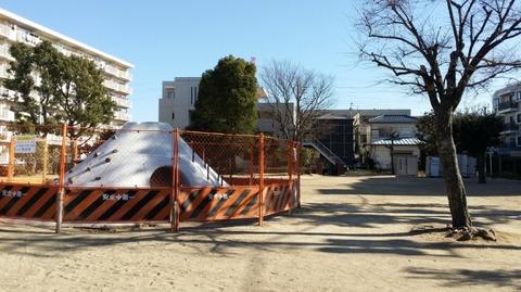 行徳東根公園のリニューアル工事