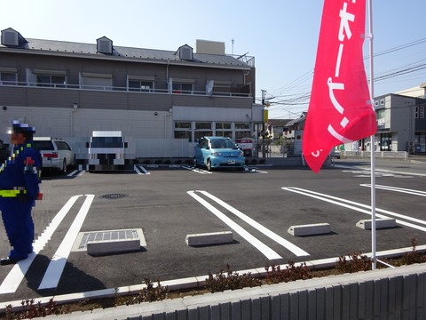 ドコモショップ市川インター店の駐車場
