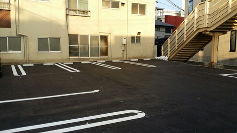 昭和セレモニーの駐車場