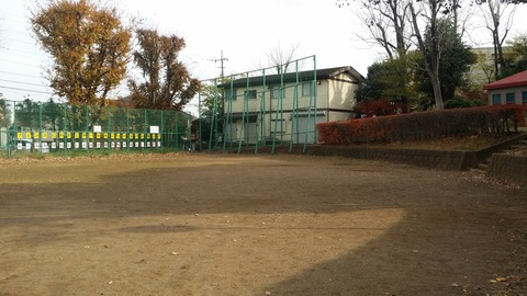須和田公園の野球場