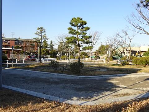 市川児童交通公園の工事
