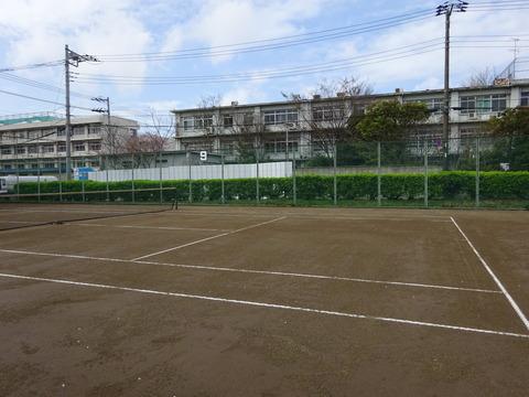 国府台公園テニスコート