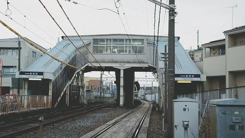 菅野駅外観