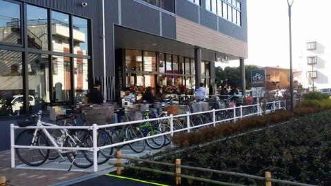 イオンタウン市川大和田の駐輪場