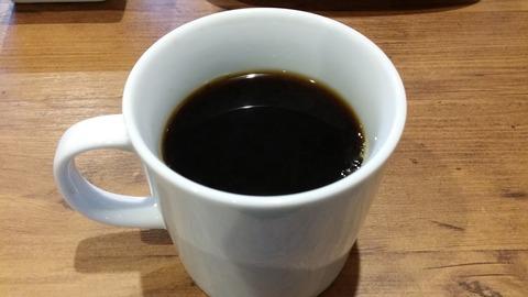モグモグカフェのランチコーヒー