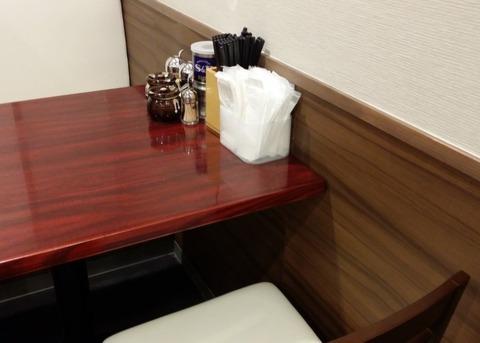 なりたけ本八幡テーブル席