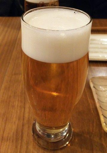 焼鳥サトウの生ビール