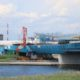 行徳橋の架け替え工事の進捗状況を見てきました、2020年3月の供用開始を目指す【2019年6月】
